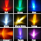 3mm / 5mm LED Bulbs - 9 COLOURS | Light Emitting Diode Ultra Bright 3V LEDs