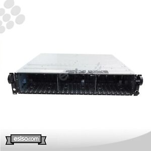 Dell PowerVault MD1120 2x EMM MODULES (JT356) DUAL PSU (F884J) WITH RAILS NO HDD