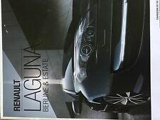 Catalogue brochure Katalog Prospekt RENAULT LAGUNA 18 PAGES ANNEE 2013