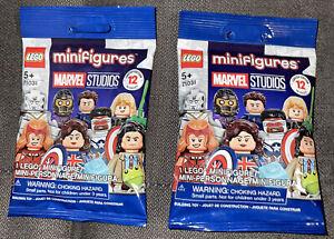 LEGO: Minifigures Marvel Studios(71031)Limited Edition{LOT OF 2 Foil Packs}🧱