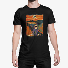 2020 The Scream Joker Batman Heath Ledger T-shirt Hot !!!