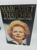 SIGNED Margaret Thatcher, Inscribed, The Downing Street Years,Autographed!extras