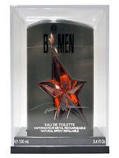 B Men By Thierry Mugler 3.4 OZ/ 100 ML Eau de Toilette Spray Rechargeable