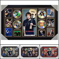 Ed Sheeran 4 CD Signed Framed Memorabilia LTD - Large - Multiple Variations - V2
