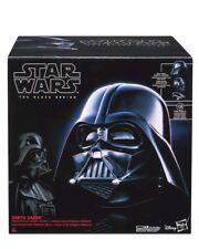 Nuevo Y En Caja GUERRA DE LAS GALAXIAS la serie negra Premium Darth Vader Casco Electrónico 1:1