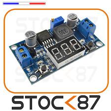 5022# module alimentation ajustable lm2596 DC->DC 1,2 ->37V  avec voltmètre
