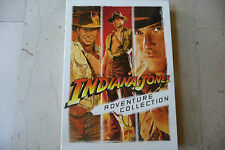 "INDIANA JONES""ADVENTURE COLLECTION-BOX Cofanetto con nr 3 DVD-LUCASFILM 2008"