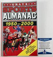 Christopher Lloyd Signed Back To The Future II Grays Sports Almanac BAS COA