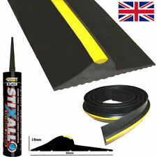 Garage Door Floor Threshold Weather Seal HEAVY DUTY RUBBER Draught Excluder