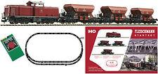FLEISCHMANN 631102 Set de iniciación analógico V100 3 Vagón transporte balasto