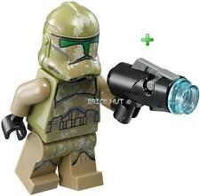 LEGO STAR WARS - 41ST KASHYYYK CLONE FIGURE - FAST + GIFT -  75035 - 2014 - NEW