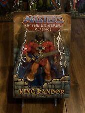 MOTU Classics King Randor MIB Heroic Ruler Of Eternia Masters Of The Universe