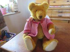hübscher alter teddy - buckelbär