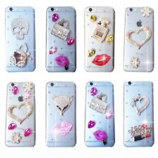 MOBILE PHONE BLING DELUX DIAMANTE SPARKLE CASE COVER  SAMSUNG iPHONE SONY HTC UK
