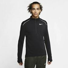 Nike Therma Sphere 3.0 Zip Running Top Mens T-Shirt Black Multi Size Sportswear