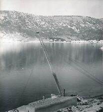 BAKARAC c.1960 -Insolite Pêcheur Grande Échelle Pêche au Thon Croatie- Div 12300