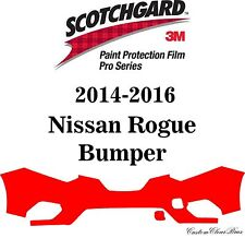 3M Scotchgard Paint Protection Film Pro Series Fits 2014 2015 2016 Nissan Rogue
