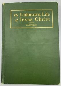 THE UNKNOWN LIFE OF JESUS CHRIST, by Virchand R. Gandhi - 1907