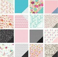 12 x 12 Scrapbook Paper Card Stock Double Sided Card Making American Craft