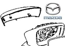 Genuine Mazda 2 2015-2016 Mirror Finisher Cover Only RH - Colour Coded DA6T691N1