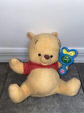 Disney Magic Rattle Baby Winnie Pooh Bear Interactive Plush Toy Doll Rattle Kids