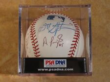ALBERT PUJOLS (F/HOF) MULTI EARLY SIGNED AUTOGRAPHED RAWLINGS MLB BALL CLEAN PSA