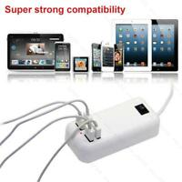 15 Watts 4 Port USB Wall Charger Multi Port for USB-Powered Devices Universal