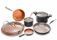 Gotham Steel 10 Piece All Inclusive Nonstick Copper Cookware Set- As Seen on TV!