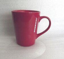 Starbucks 2016 Red W/White Lettering Coffee Mug Cup 13 oz
