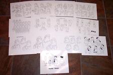 Laurel & Hardy Animators' Model Sheets Hanna Barbera Art Reference Guide