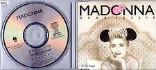 RARE MAXI CD SINGLE MADONNA  DEAR JESSIE 3 TRACK GERMAN CD 75992 DE 1989