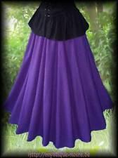 Mittelalter Rock Siobhan superweit lang violett lila Larp 36 - 46 Hexe Magierin