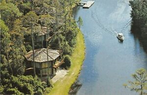 Walt Disney World postcard Treehouse Villas