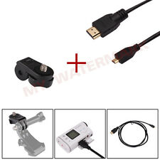 Micro HDMI to HDMI 1080P Video Cable for Sony Action Cam HDR-AS15/20/30V/AS100V