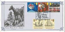 Europa  Discover America  Cayuse Victorian Prints No.67 Bradbury  1992 FDC Cover