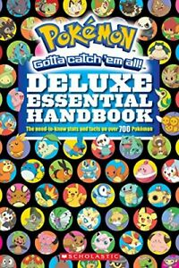 Pokemon: Deluxe Essential Handbook by Silvestri, Cris Book The Cheap Fast Free