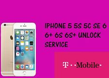 T-MOBILE IPHONE 6S/6S+/6/6S/5S/5 FACTORY UNLOCKING SERVICE OFFICIAL