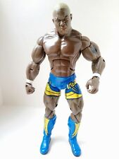 RARE WWE Shelton Benjamin JAKKS Deluxe Aggression Series 16 Wrestling Figure