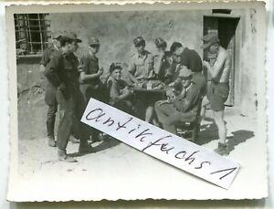 Foto - 5 : Deutsche Soldaten der 26.Panzer-Division in italien im Juli 1944