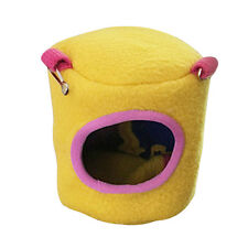 Pet Hammock For Ferret Rat Hamster Parrot Squirrel Hanging Bed House Toys Xs S
