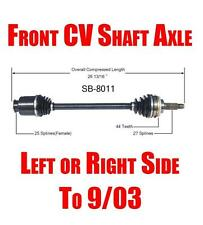 Front Axle L & R for Subaru Baja Impreza Forrester Legacy Outback Check To 09/03