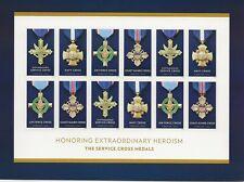2016 Forever Service Cross full Sheet of 12 Scott #5065-5068, Mint NH