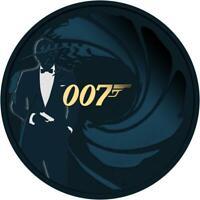 Tuvalu 2020 1$ - James Bond 007 - 001 - 1 Oz Silbermünze