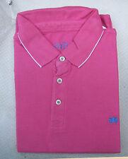 BNIP Men's Savile Row Piqué Short Sleeve Polo Shirt XXL Pink Perfect Man Present