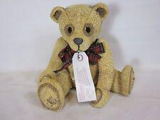"""Kensington Bears Collection Holly Grove Resin Bear 1997 8"""" Tall"""