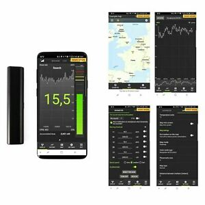 Atom Fast Scintillation 8*8*50 Crystal Radiation Detector Dosimeter / Bluetooth
