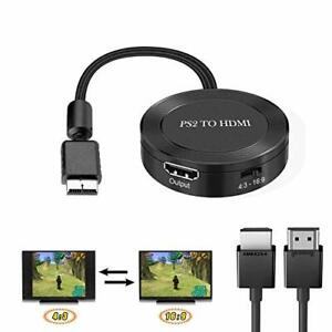 PS2 to HDMI Converter PS2 to HDMI Adapter PS2 HDMI Cable Support 43/169 Plug ...