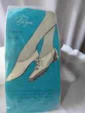 Ban-Lon Belle-Sharmeer Sneaker Socks Vintage New Old Stock Sz Lg Fits 10-11 1/2