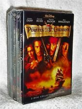 The Pirates Of The Caribbean Complete Collection (DVD, 2018, 5-Disc) Johnny Depp