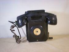 VINTAGE STROMBERG-CARLSON  HAND CRANK NO DIAL  TELEPHONE